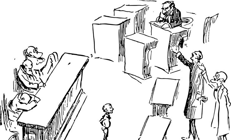 Jak zachować się w sądzie