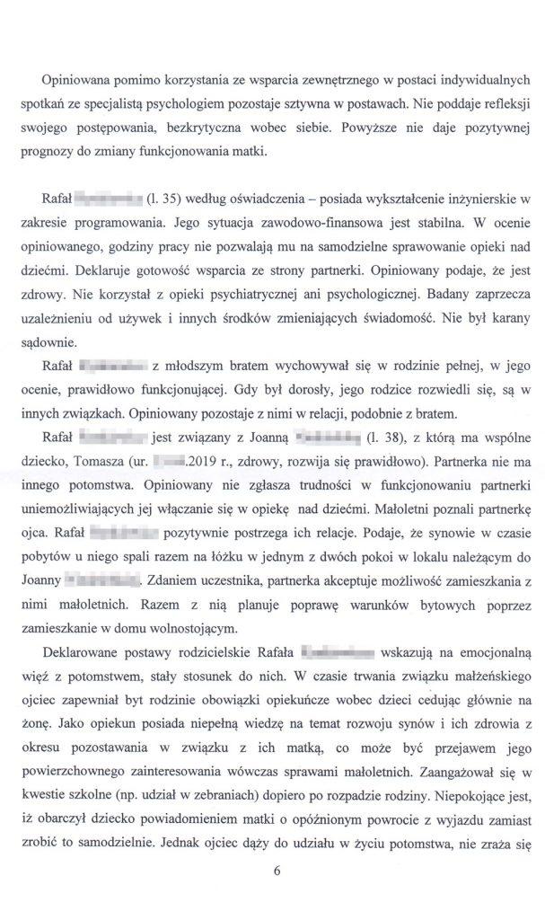 OZSS opinia przykładowa str. 6