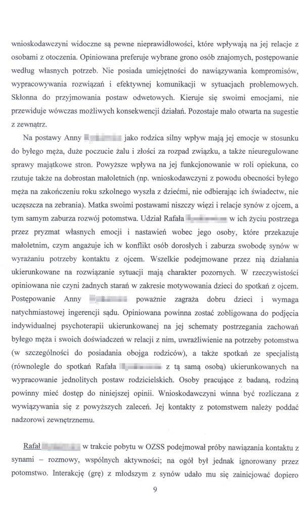 OZSS opinia przykładowa str. 9