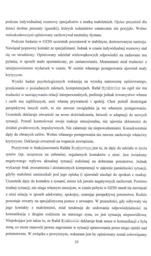 OZSS opinia przykładowa str. 10