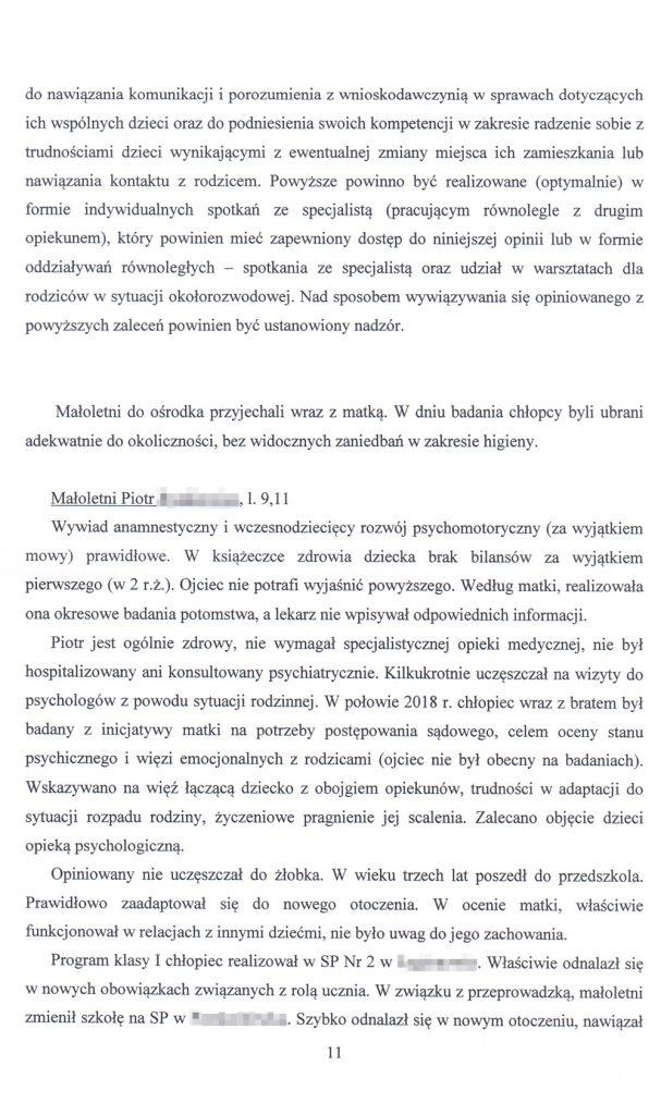 OZSS opinia przykładowa str. 11