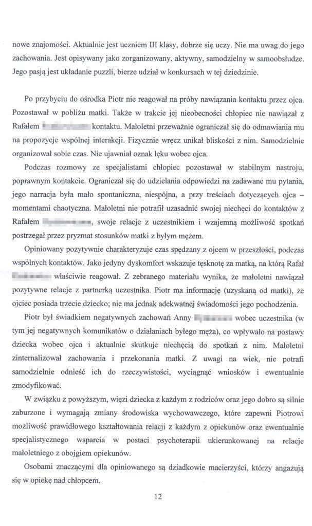 OZSS opinia przykładowa str. 12