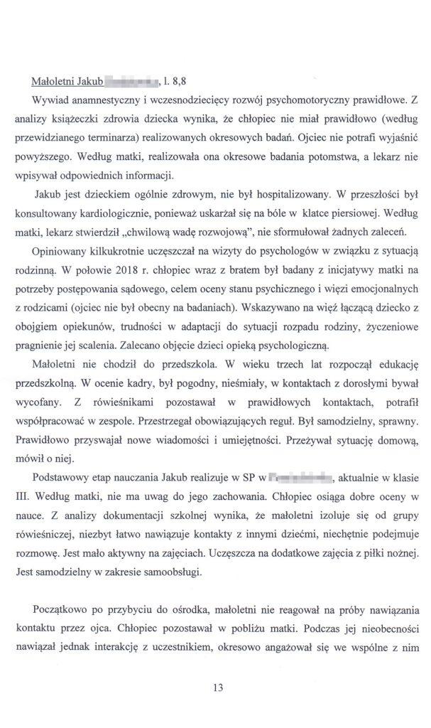 OZSS opinia przykładowa str. 13