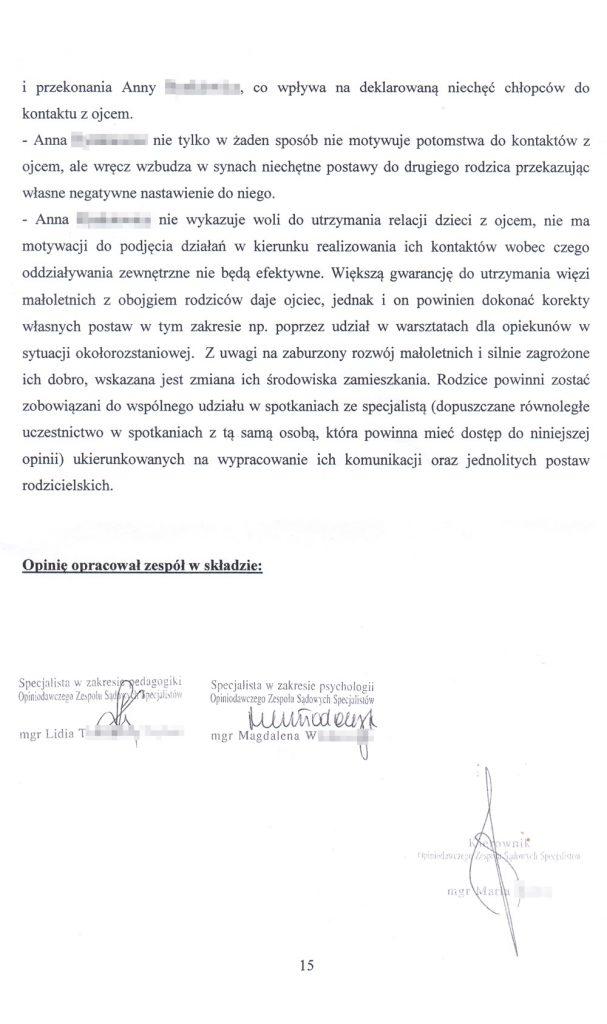 OZSS opinia przykładowa str. 15
