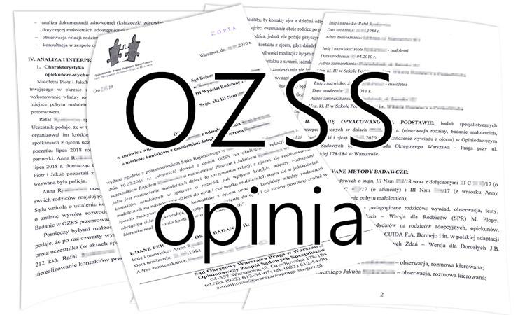 Przykładowa opinia OZSS