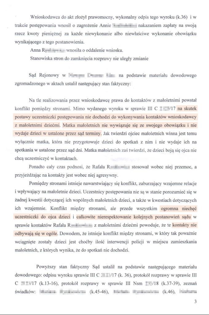 postanowienie z uzasadnieniem str.3
