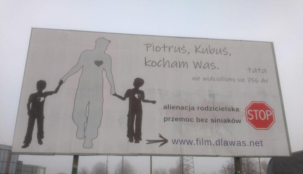 billboard alienacja rodzicielska